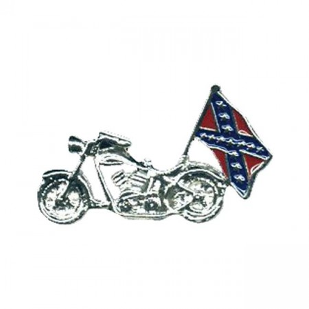 Bike & Flag Pin