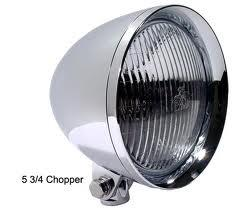 DNA Chopper frontlykt, Chrome