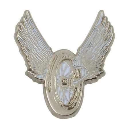 Winged Wheel Pin