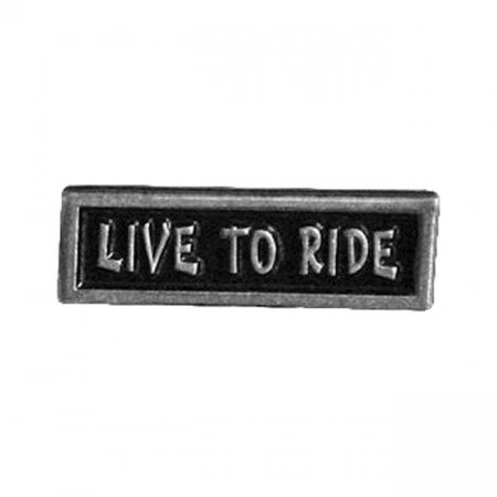 Live To Ride Pin